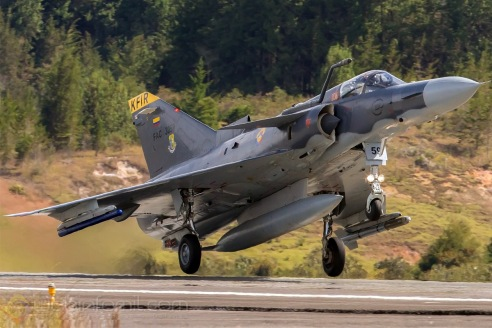 La Fuerza Aérea Colombiana ha anunciado el despliegue por todo el territorio nacional de aviones cazabombarderos Kfir C10